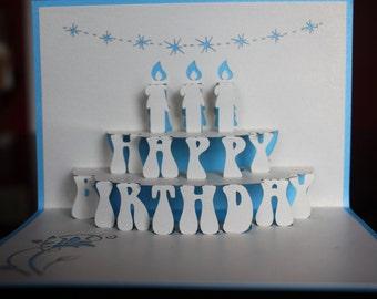 Birthday pop-up card 2