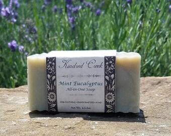 Mint Eucalyptus All-in-One Bar Soap