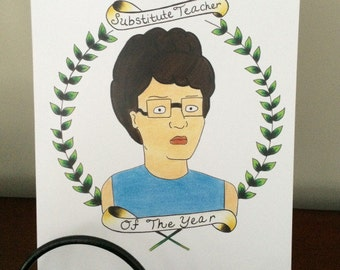 King Of The Hill Peggy Print