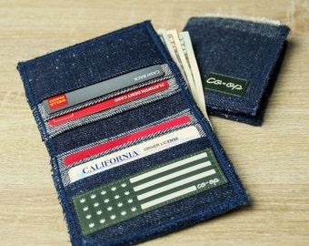 Coop Hemp Denim Hi-Bi-Fold Wallet 3.0