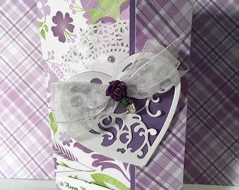 Handmade Valentine's Card/Bouquet de Fleur Collection