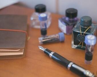 J.Herbin Fountain Pen Ink Samples