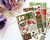 In The Woods Vertical Weekly Kit-- Matte Planner Stickers
