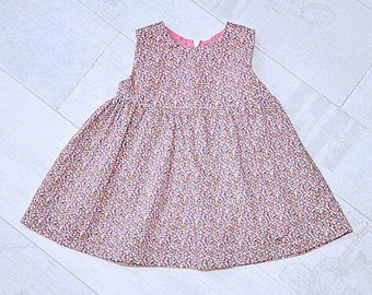 RORY Handmade Liberty Print Baby Dress