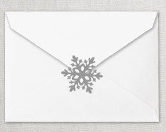Snowflake Envelope Seal, Snowflake Invitation Seal, Snowflake Invitation Sticker, Winter Onederland Invitation Sticker, Christmas Seal