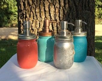 Mason Jar Soap Dispenser (Pint )