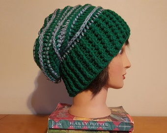 Slytherin Riptide Slouch Beanie
