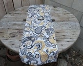 Paisley Floral Table Runner