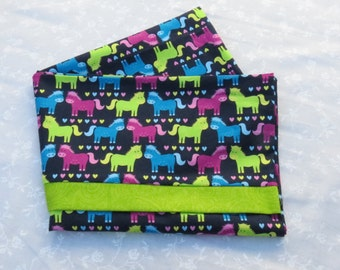 Horse Bedding, Children Pillowcases, Children Bedding, Baby Horses, Little Baby Horsey Pillow Case