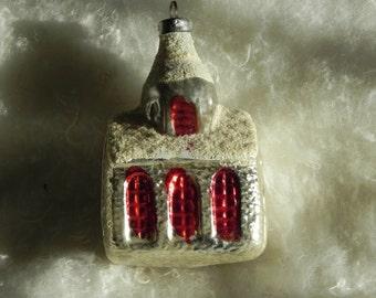 Vintage Glass Chapel Ornament