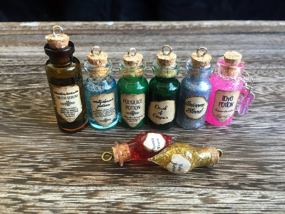 Harry Potter Potion Necklaces by Taypop