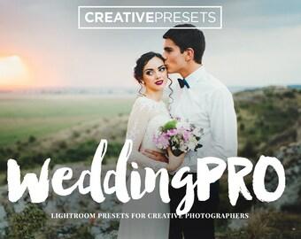 "Wedding Lightroom Presets for Photographers ""Wedding Pro"" for Creative Photographers"