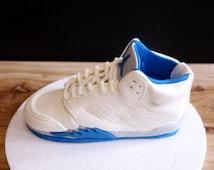 8inch Air Jordan 5 Fire (Royal Blue)  Fondant Cake Topper