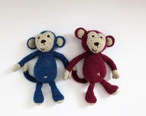 Monkey **Crochet pattern only**