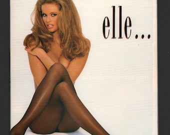 Mature Vintage Playboy Mens Girlie Pinup Magazine : May 1994 VG Elle MacPherson White Pages Intact Centerfold