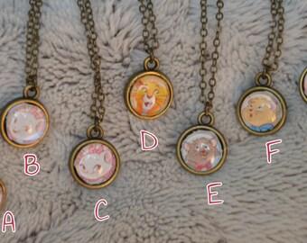 BJD - cats DISNEY necklaces