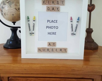 First Day at Nursery Memory Frame