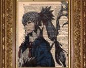 Takumi (Fire Emblem) Dictionary Art Prints