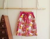 SALE! Vintage Clothing - Wrap Skirt - Retro Skirt - Vintage Skirt - 70s Fashion  - Extra Small