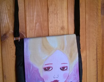 "Sling bag ""petite fairy of the bois"""