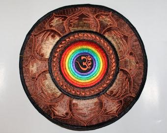 Om Mandala patch