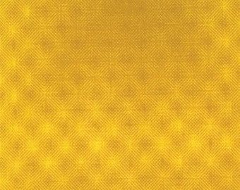 Puzzle Pieces  Prisms  (1002-11) Yellow - Moda Basic Quilting Fabric by the 1/2 yard