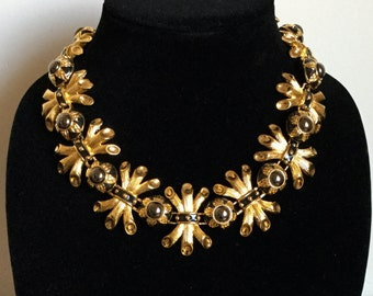 Vintage FENDI Haute Couture Runway Statement Necklace
