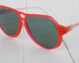 Vintage Sunglasses Retro sunglasses Womens sunglasses Soviet Sunglasses Red sunglasses Made in USSR Sunglasses For her