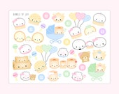 Baby Stickers [Birthday Stickers, Planner Stickers, Cute Stickers, Erin Condren, Planner Accessories, Baby Shower, Baby Scrapbook, New Baby]