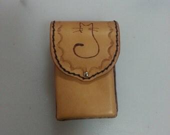 Portasigarette personalizzato - Personalized Leather Cigarette Case