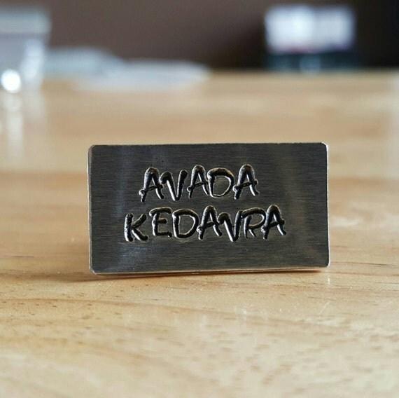 Avada Kedavra Brooch Pin
