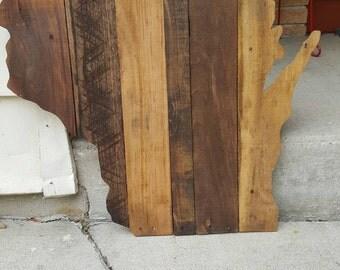 handmade reclaimed wood wisconsin 24x23 inch