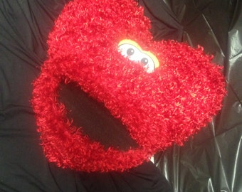 Large Red Soft Publish Heart Puppet