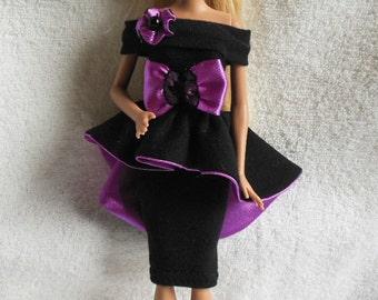 Handmade dress for Barbie doll