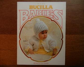 Bucilla Babies ~ Volume 10 ~ Infants to 2 Years ~ 1977