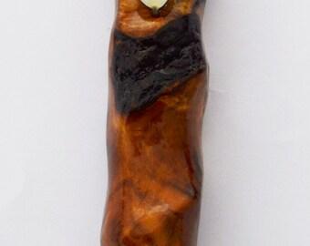 Olive wood handmade Mezuzah - NO' 78