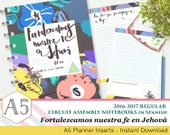 Fortalezcamos nuestra fe en Jehová - JW Circuit Assembly Printable Note sheets - 2016-2017 - Spanish