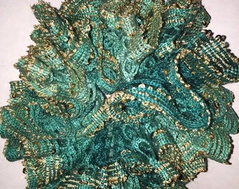 Crochet Hair scrunchy ~ Crochet pony tail holders