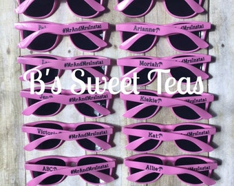 Custom sunglasses set of 12