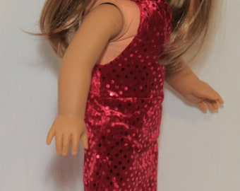 American Girl Sequin Fancy Dress Free Shipping, 10% off!
