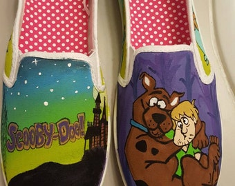 Custom Scooby-Doo Shoes