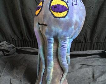 Hat / Wig stand mannequin display in Octopus design