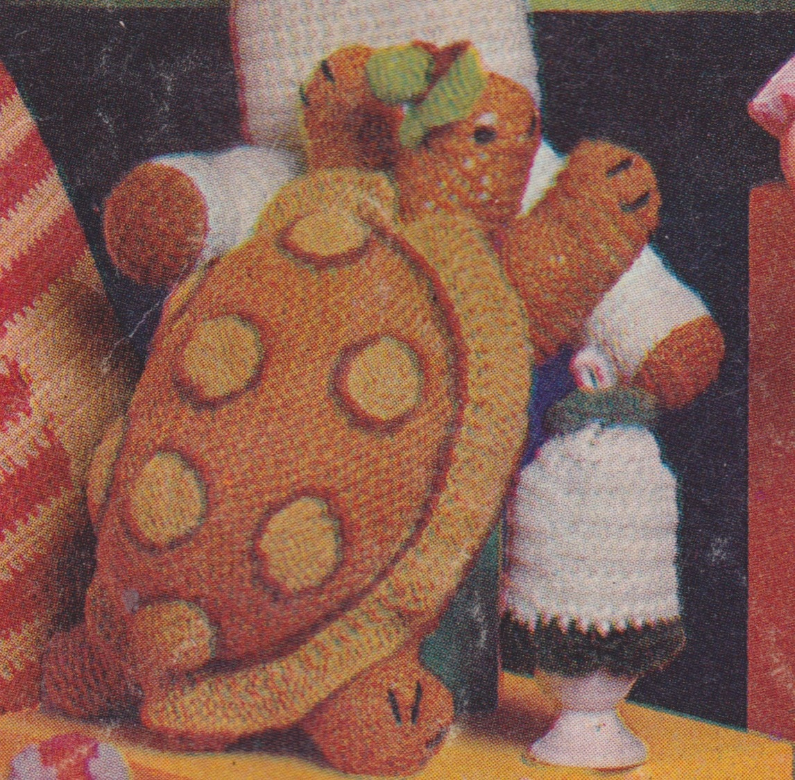 Tortoise Clothes Knitting Pattern : Pdf tortoise knitting pattern vintage instructions
