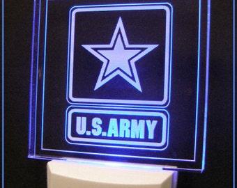 Military Night Lights, Marines Night Light, Army Night Light, Navy Night Light, Air Force Night Light, National Guard Night Light