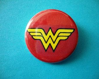 Wonder Woman Pin or Magnet