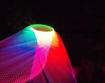 Mandala LED Polypro Hula Hoop