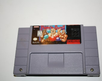 Super Punch -Out! for SNES Super Nintendo
