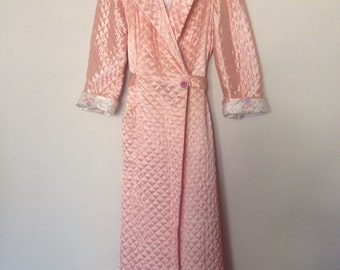 1950s Quilted Robe