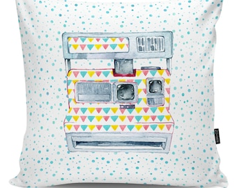 Decorative pillow Retro Camera