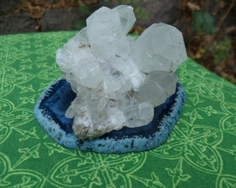 Quartz Crystal Cluster from California